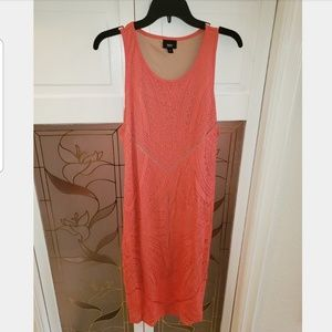 Women's New Mossimo Racerback Tank Size XL Coral